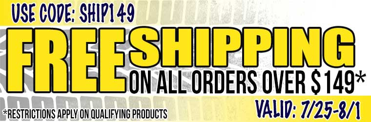 Free Ground Shipping!