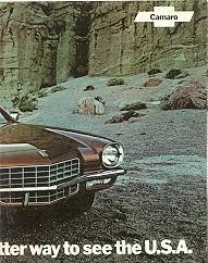 72 Camaro Brown 2