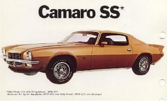 72 Camaro ss