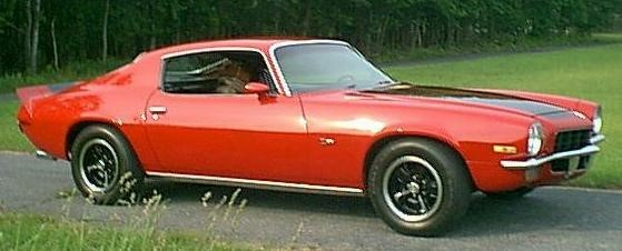 72 RED Camaro ss