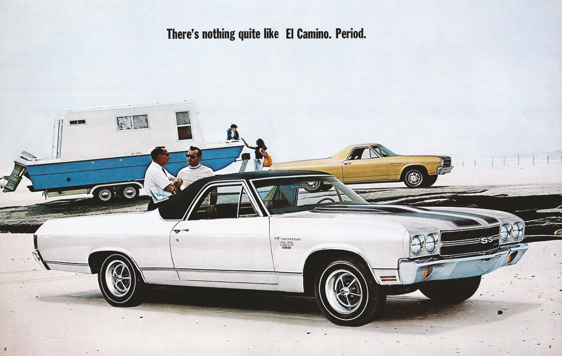 1970 El Camino Parts And Restoration Information Ss396