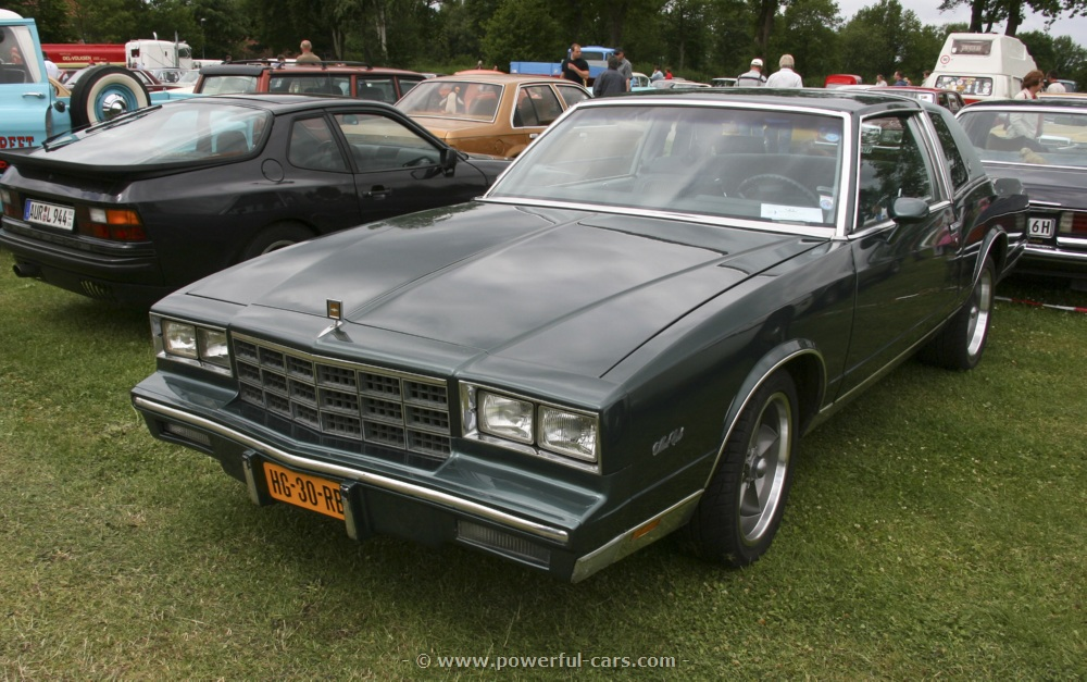 1981 Monte Carlo Parts and Restoration Specifications