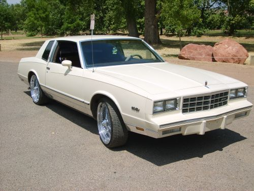 1983 Monte Carlo >> 1983 Monte Carlo Parts And Restoration Specifications
