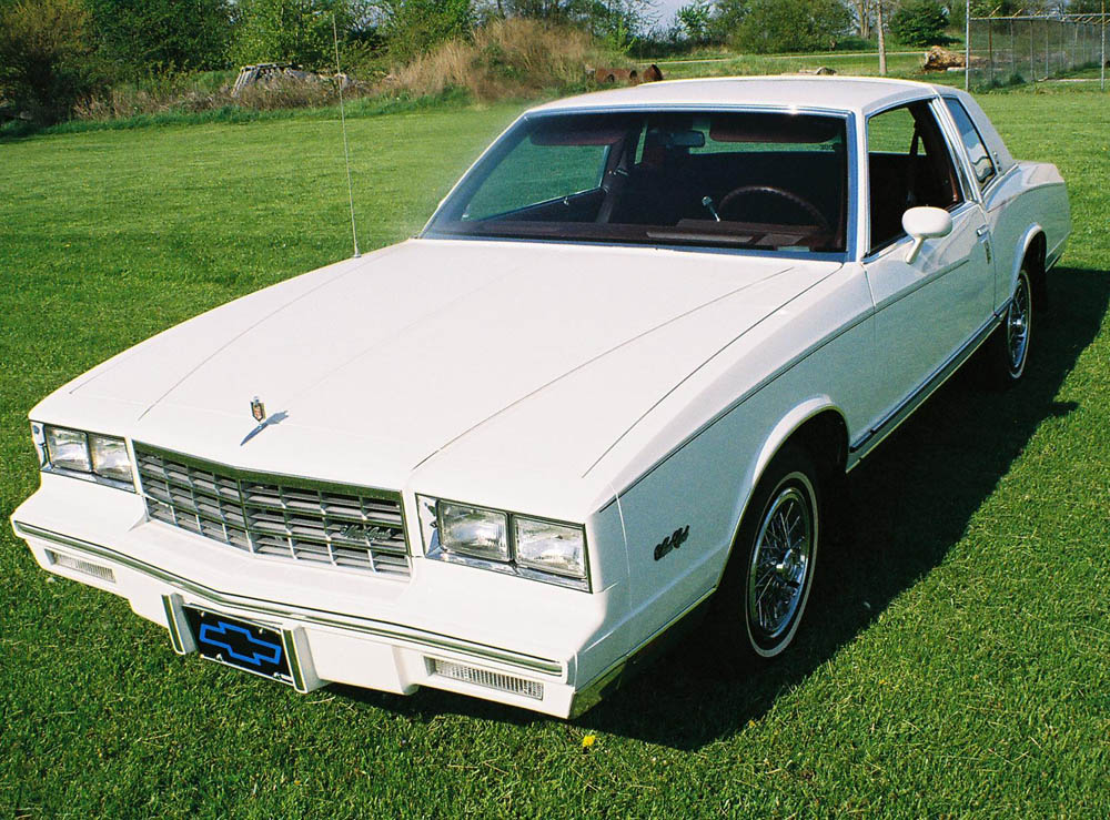 1984 Monte Carlo Parts and Restoration Specifications