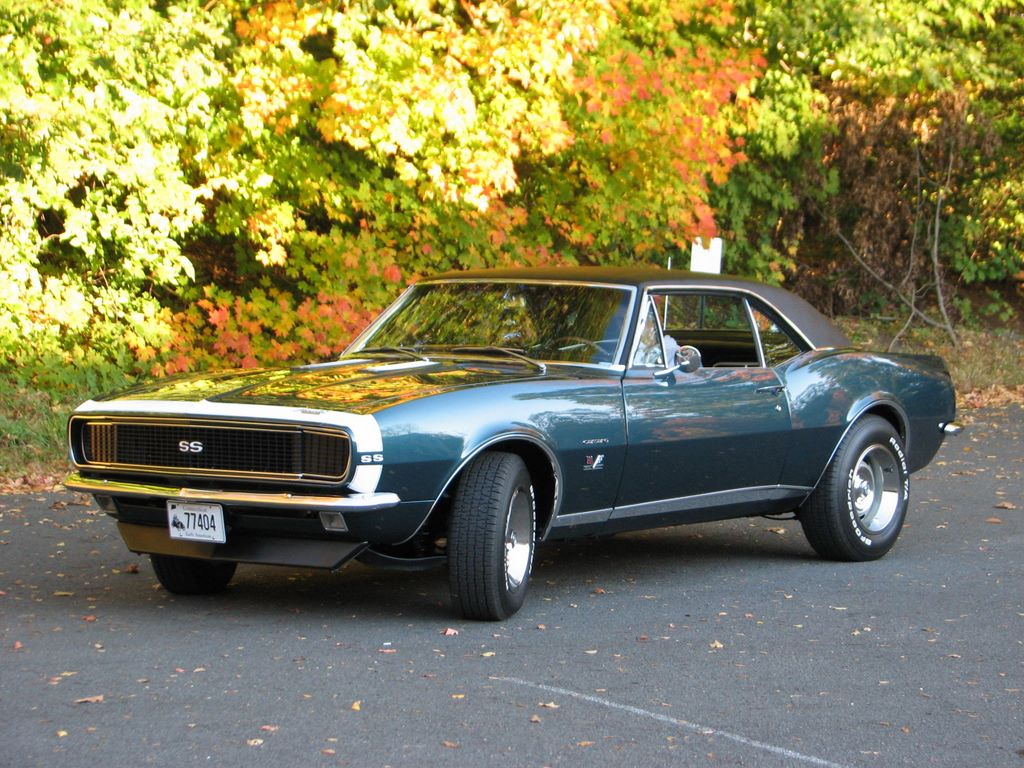 1967 Camaro Parts And Restoration Information