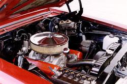 1966 Chevy Nova Engine
