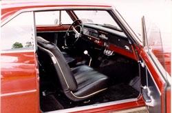 1966 Chevy Nova Interior