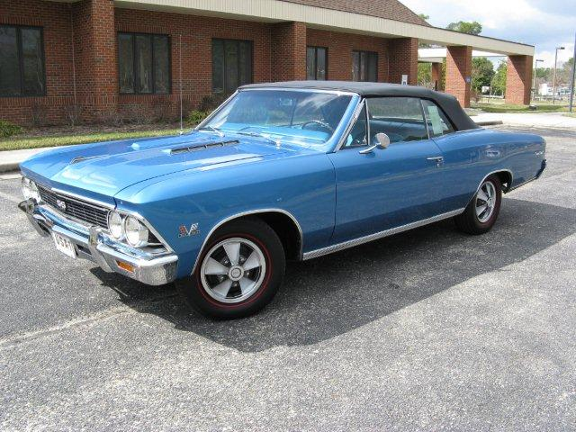 1966 Chevelle Parts And Restoration Information