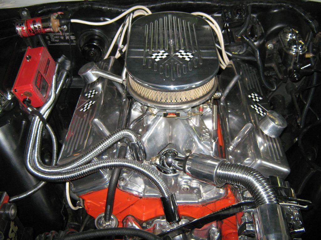 1967 Nova Super Sport Engine