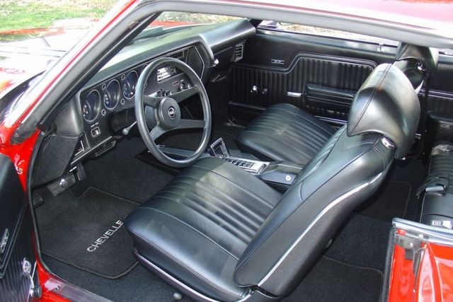 1972 Chevelle Interior