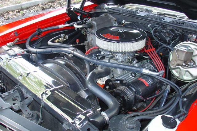 1972 Chevelle Engine