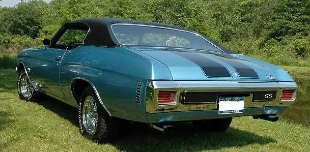 1970 Chevelle SS396