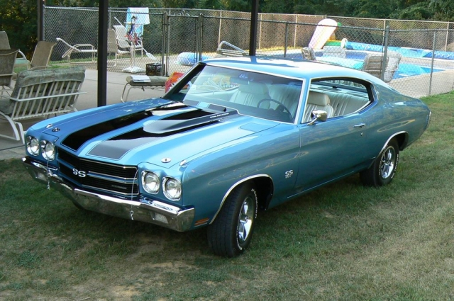 Numbers Matching 1970 Chevelle SS396