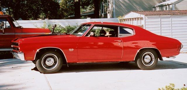 Red 1970 Chevelle Super Sport