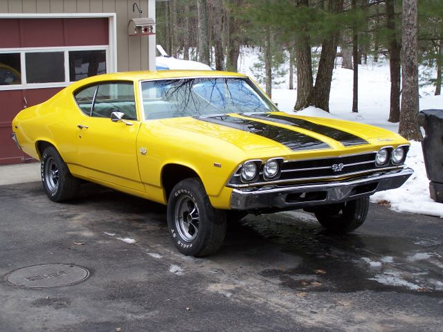 1969 chevelle parts and restoration information, Wiring diagram