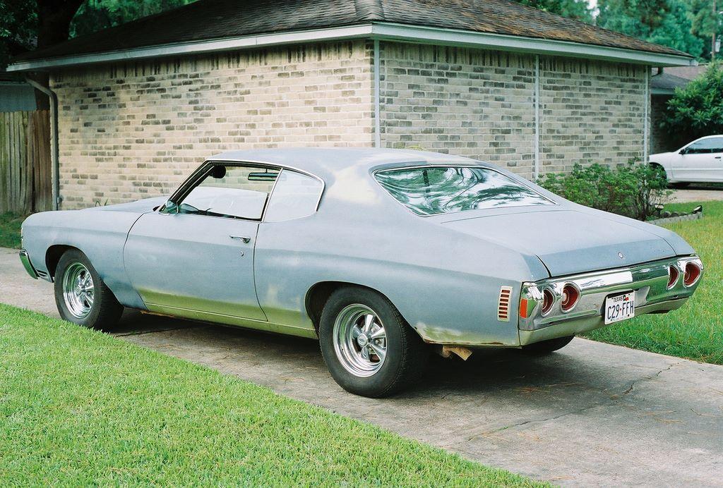 Philip's 1971 Chevelle - Pre-Restoration