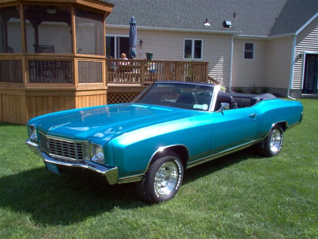 Gary S 1972 Monte Carlo Convertible