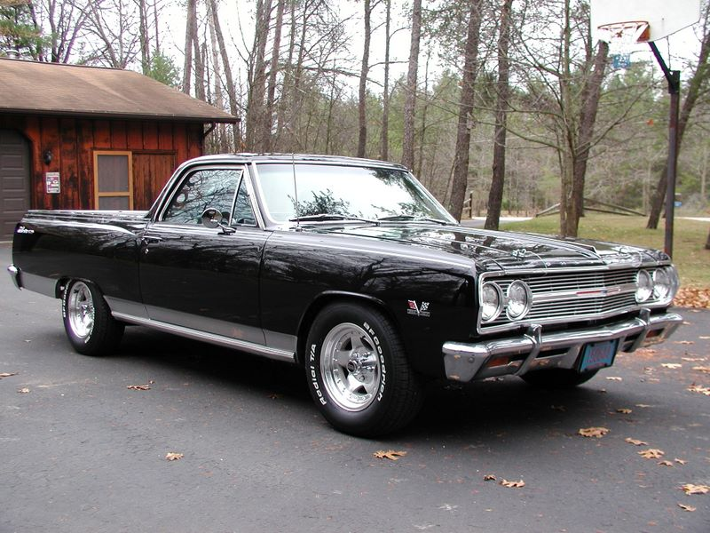 1965 El Camino Parts And Restoration Information