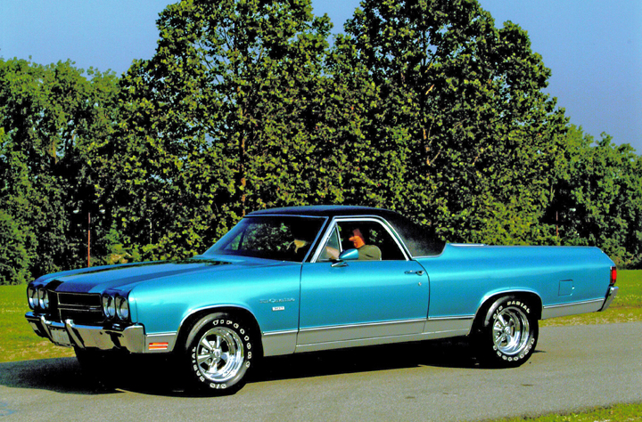 1970 El Camino Parts And Restoration Information