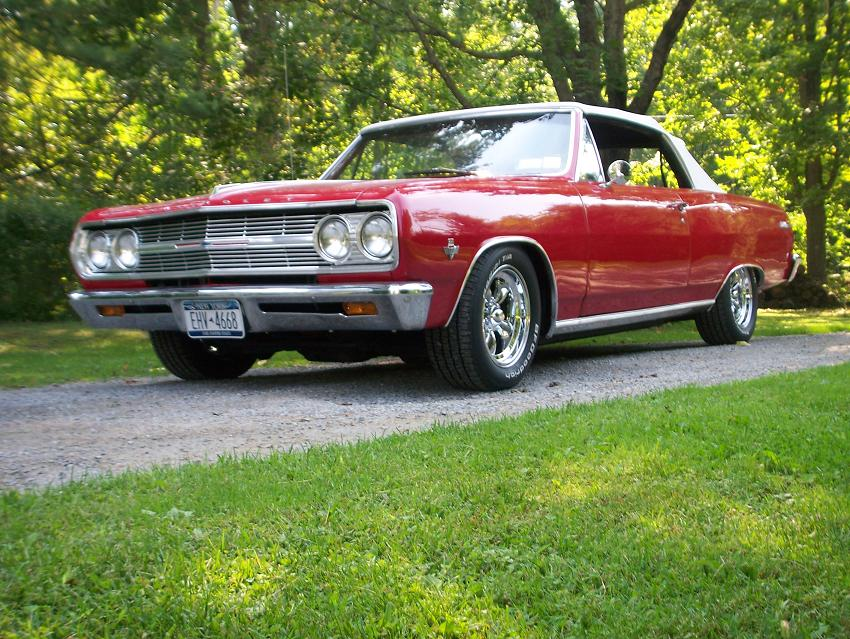 johns 1965 chevelle convertible
