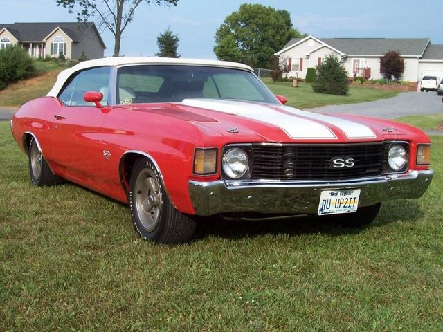 russell's 1972 chevelle
