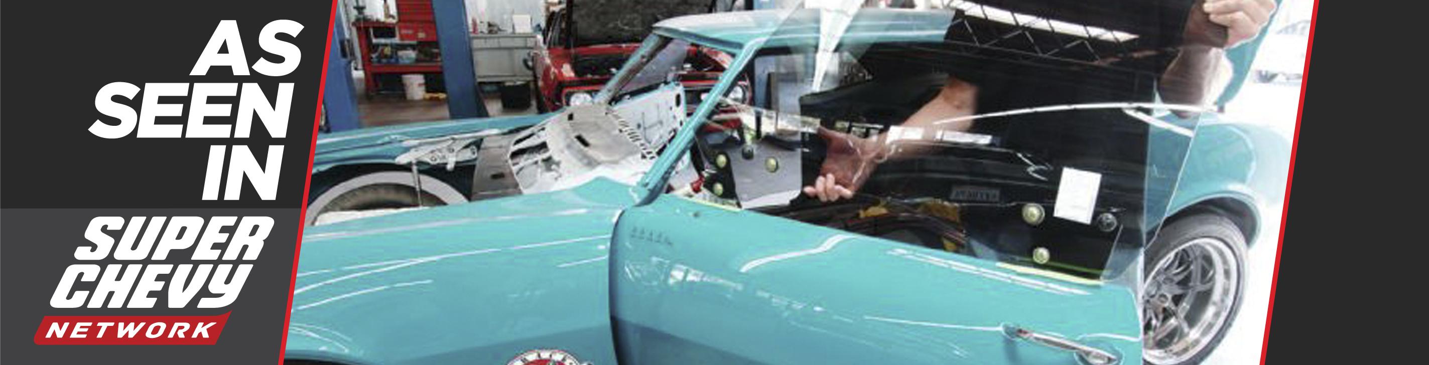1968 Chevrolet Camaro Project Track Rat - Rebuilding Doors