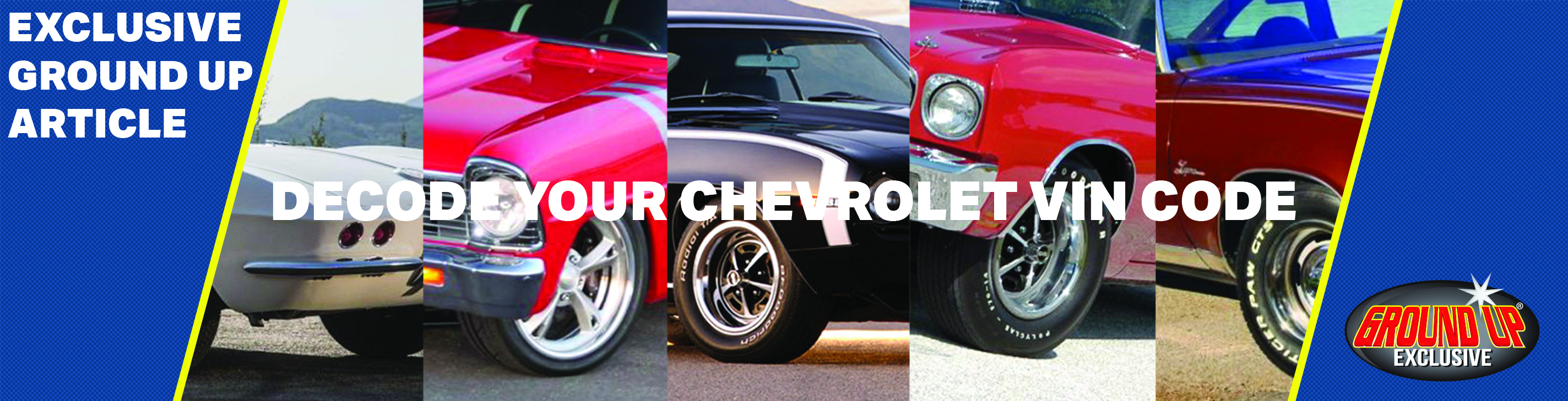 Decoding Your Chevelle's Vin Code
