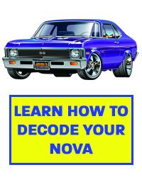 Decode Your Chevrolet VIN Code