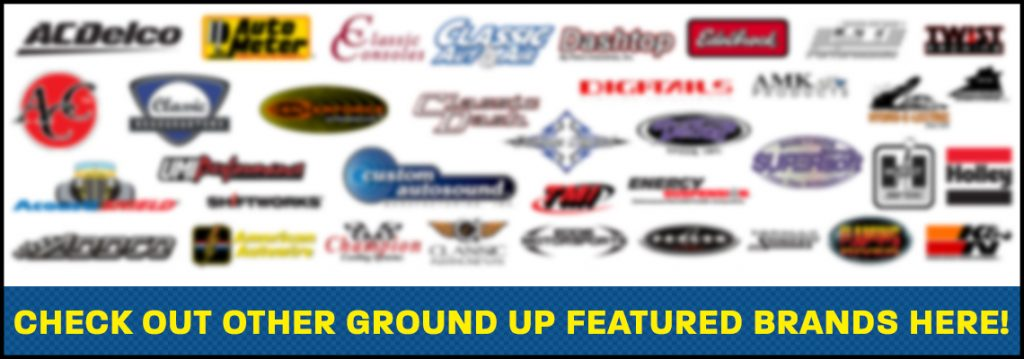 Click this image to see all Ground Up's Brand Features