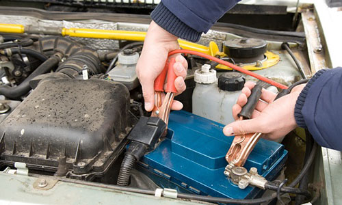 Re-charge your cars battery.