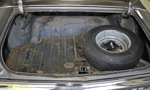 Don't let your trunk get rusted from unknown moisture.