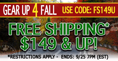 Gear Up for Fall with Free Shipping on all order $149.00 & Up
