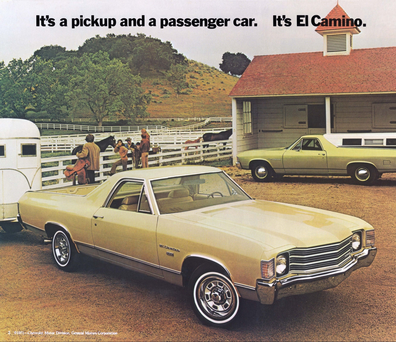 1972 El Camino Parts And Restoration Information