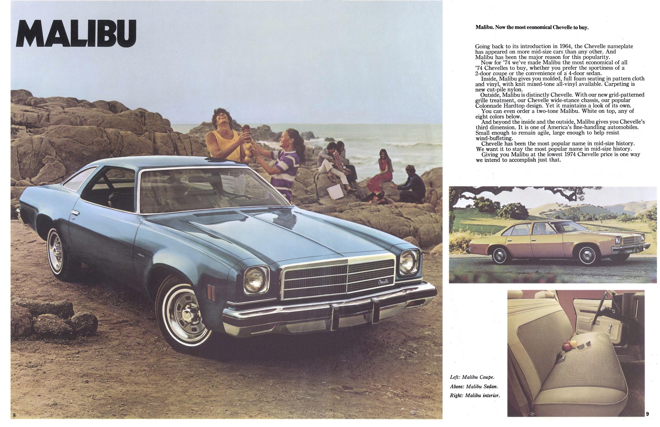 1974 Chevelle Malibu Parts And Restoration Information