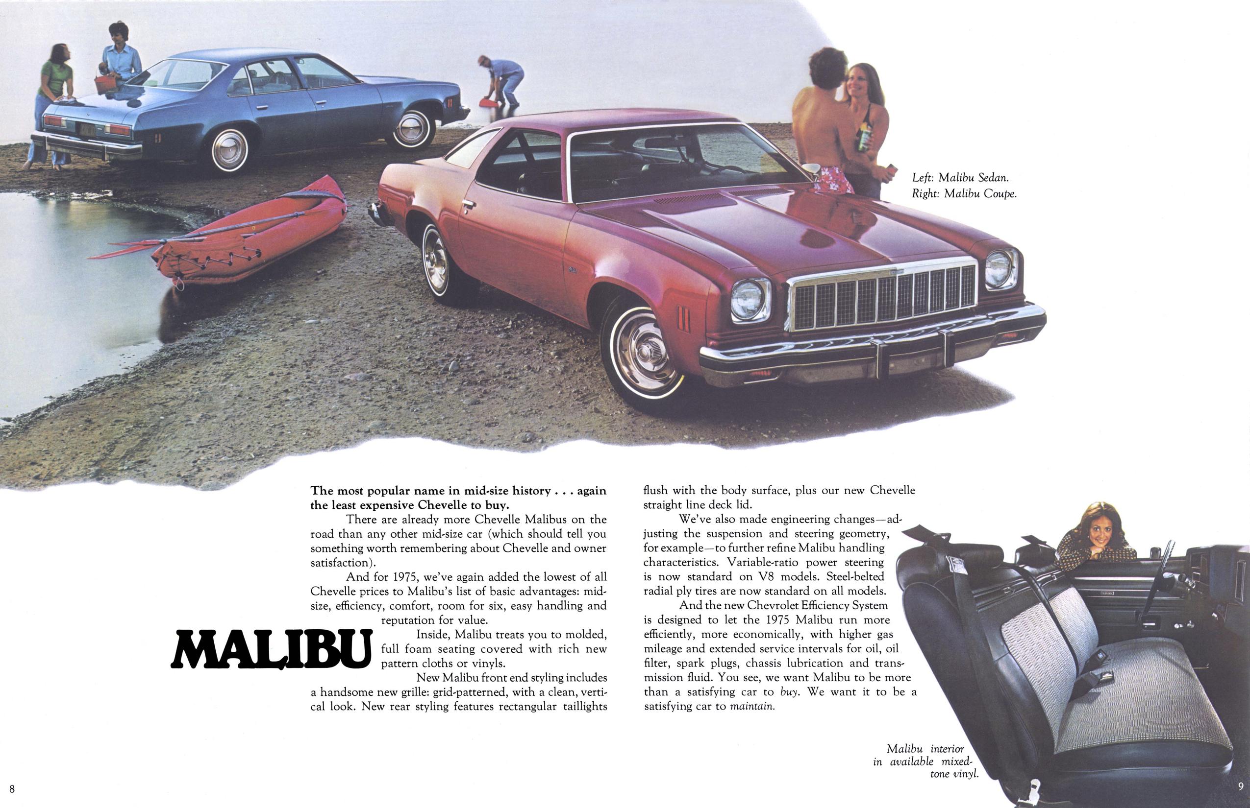 1975 chevelle malibu parts and restoration information1975 chevrolet chevelle brochure5