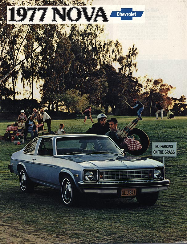 1977 Nova Vintage ads - Front Cover