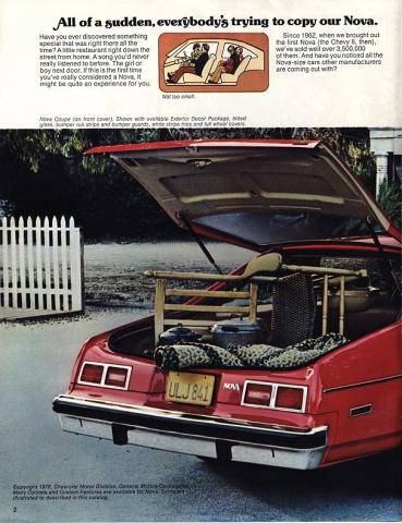1977 Nova Vintage ads - page 2