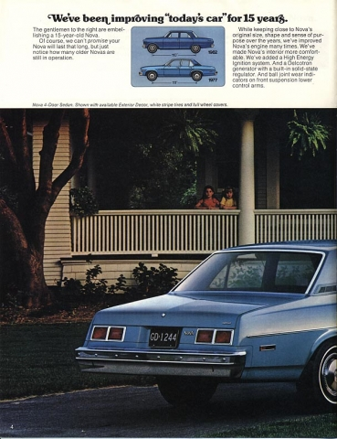 1977 Nova Vintage ads - page 4