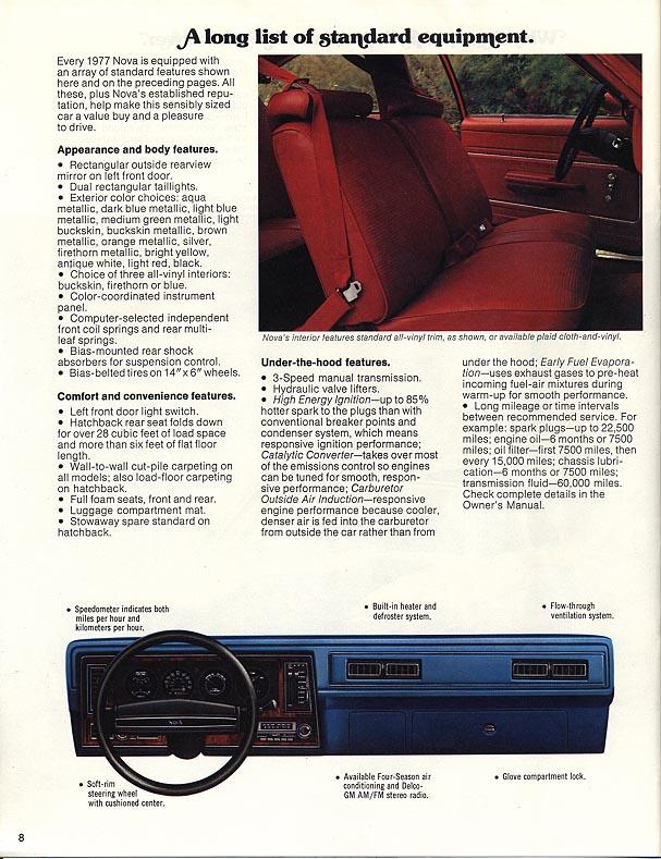 1977 Nova Vintage ads - page 8