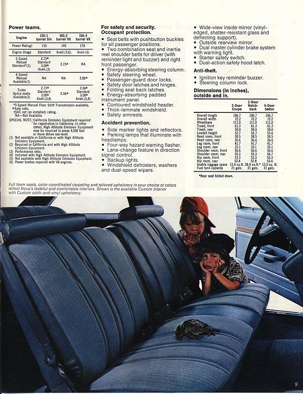 1977 Nova Vintage ads - page 9