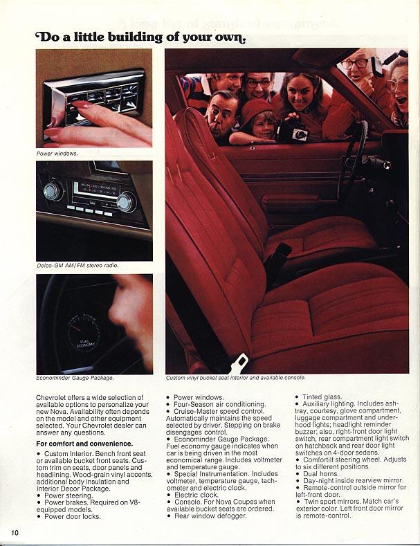 1977 Nova Vintage ads - page 10