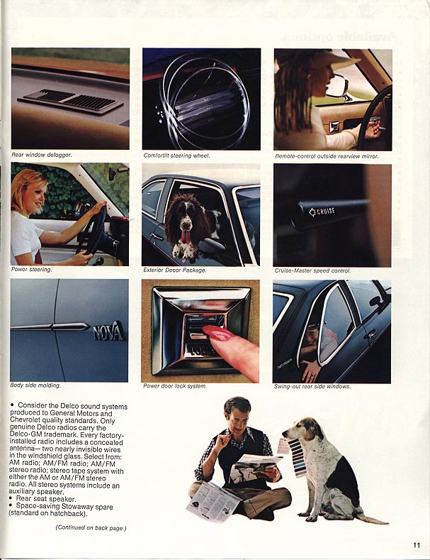 1977 Nova Vintage ads - page 11