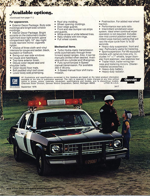 1977 Nova Vintage ads - back cover