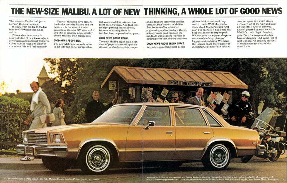 1978 Malibu Brochure (page 2 & 3)