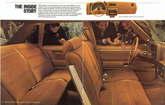 1978 Malibu Brochure (page 6 & 7)