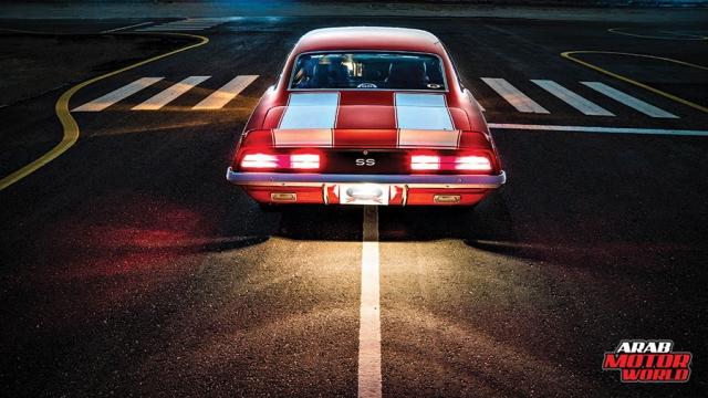 Fahad's 1969 Camaro (taken by Arab Motor World)