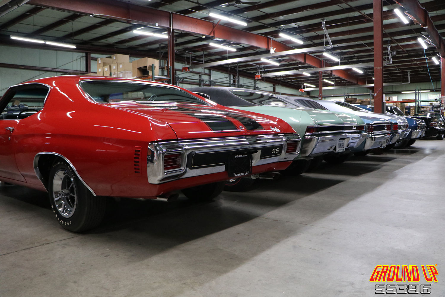2019 Ground Up Vendor Expo - Muscle Car Taillights