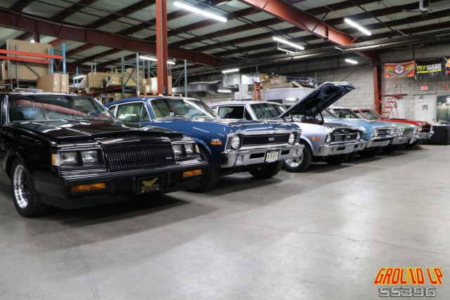 2019 Ground Up Vendor Expo - Muscle Car Line Up
