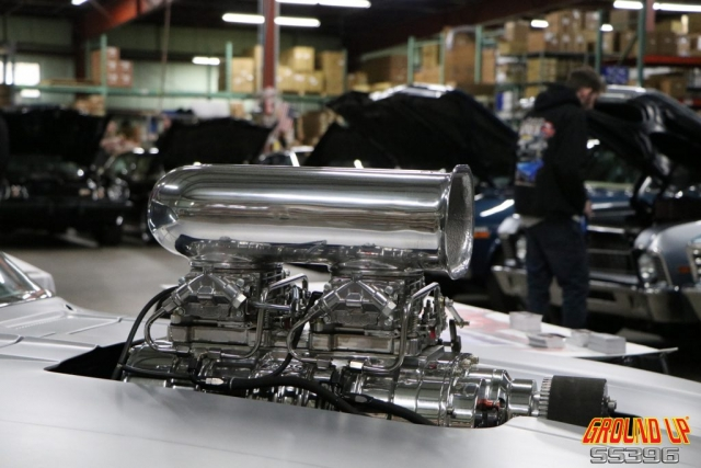 2019 Ground Up Vendor Expo - blower from 69 Camaro