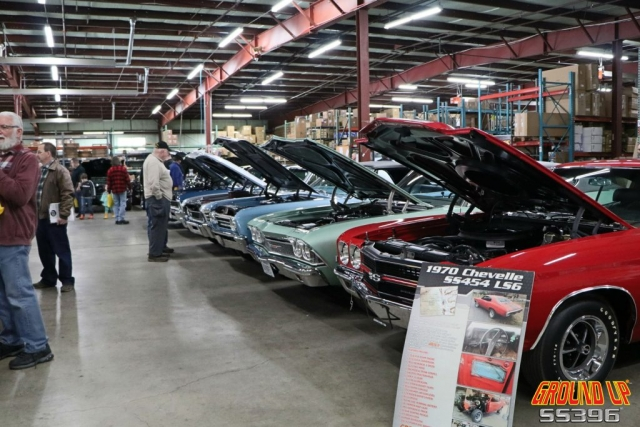 2019 Ground Up Vendor Expo - Row Of Chevelle's #2